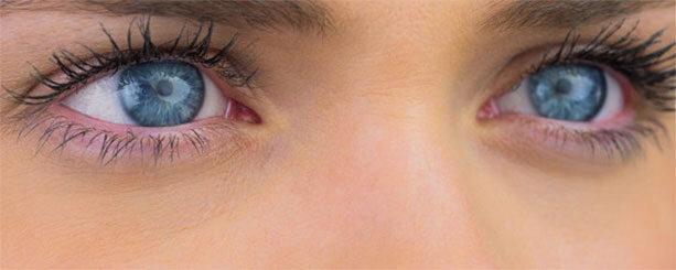 Szemszárazság, vörös szemek